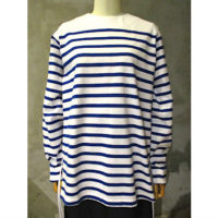 SALE【HYKE】STRIPED LONG-SLV TEE