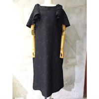 sold out【tricot COMME des GARCONS】エステルジャガードリボン柄ワンピース