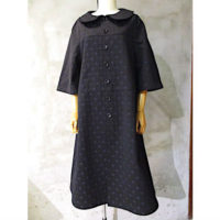 sold out【tricot COMME des GARCONS】綿水玉柄ジャガードコート