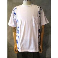 【COMME des GARCONS HOMME】綿天竺×綿天竺プリントTシャツ
