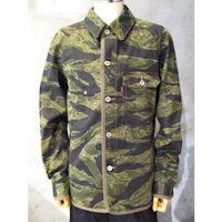 【eYe COMME des GARCONS JUNYA WATANABE MAN】綿ツイルプリント Levi's Wネームジャケット