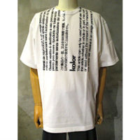 【kolor】度詰め天竺Tシャツ
