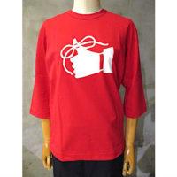 【tricot COMME des GARCONS】綿天竺製品プリントTシャツ