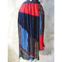 SALE【kolor】ネクタイ柄プリントスカート