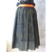 SALE【kolor】パンチングプライタースカート
