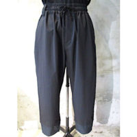 【White Mountaineering】STRETCHED TAPERED SARROUEL PANTS