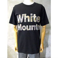 【White Mountaineering】PRINTED T-SHIRT 'CAMO LOGO'
