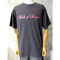 【WALK OF SHAME】CLASSIC T-SHIRT(RED LOGO)