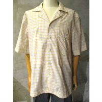 【WALK OF SHAME】CHECKED SHORT-SLEEVED SHIRT