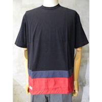 【COMME des GARCONS HOMME】綿天竺×多素材MIX Tシャツ