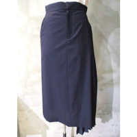 SALE【HYKE】MARINE PLEATED SKIRT