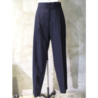 【HYKE】MARINE TAPERED PANTS