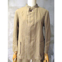 【tricot COMME des GARCONS】綿麻ツイルジャケット