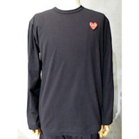 sold out【PLAY COMME des GARCONS】PLAY T-SHIRT RED HEART