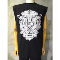SALE【LIAM HODGES】CYBARMETAL SLEEVELESS TEE