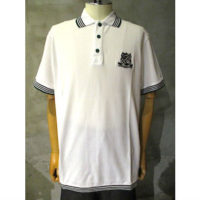 【White Mountaineering】EMBLEM EMBROIDERED POLO SHIRT