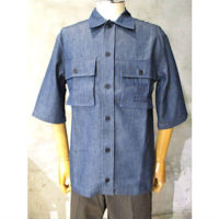 sold out【MAISON KITSUNE】POCKETS OVERSHIRT