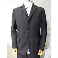 【COMME des GARCONS HOMME】ウールエステルサージ×綿ナイロンツイル二重織製品染ジャケット