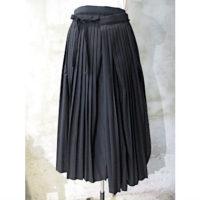 【tricot COMME des GARCONS】エステルウールギャバ先染スカート
