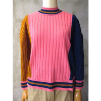 【HENRIK VIBSKOV】TRICOLOR LONG SLEEVE