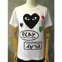 【PLAY COMME des GARCONS】PLAY T-SHIRT