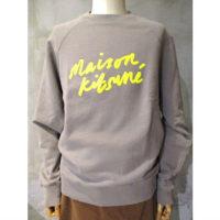 【MAISON KITSUNE】SWEATSHIRT HANDWRITING