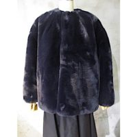 【HYKE】FAUX FUR REVESIBLE JACKET