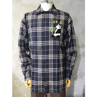 【doublet】PUPPET ANIMAL EMBROIDRY CHECK SHIRT