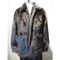 sold out【doublet】HAND-PAINTED FUR JACKET